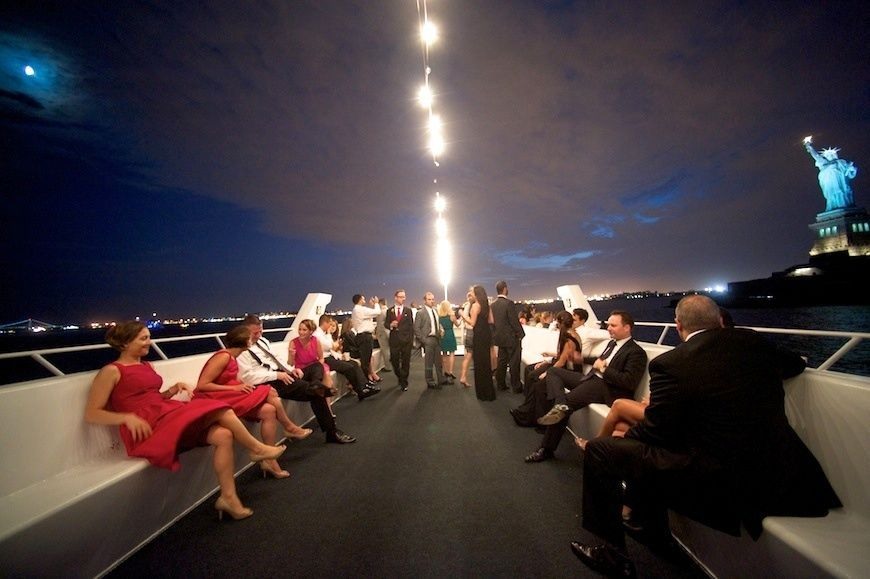 Amy And Eric Royal Princess Yacht Wedding Nyc