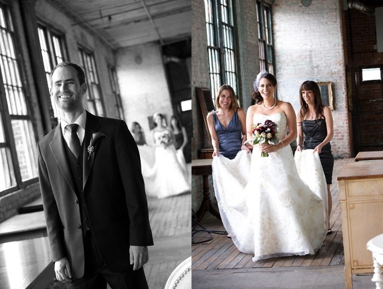 The Metropolitan Building wedding, LIC. ,NYC weddings, Alex Z Photography