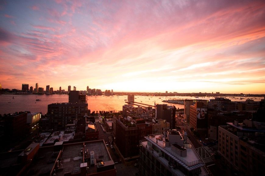 Hannah and Asaf, Tribeca Rooftop wedding