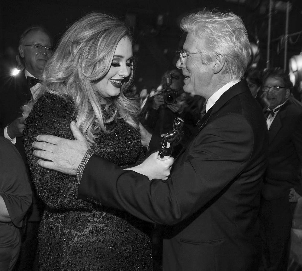 Adele and Richard Gere