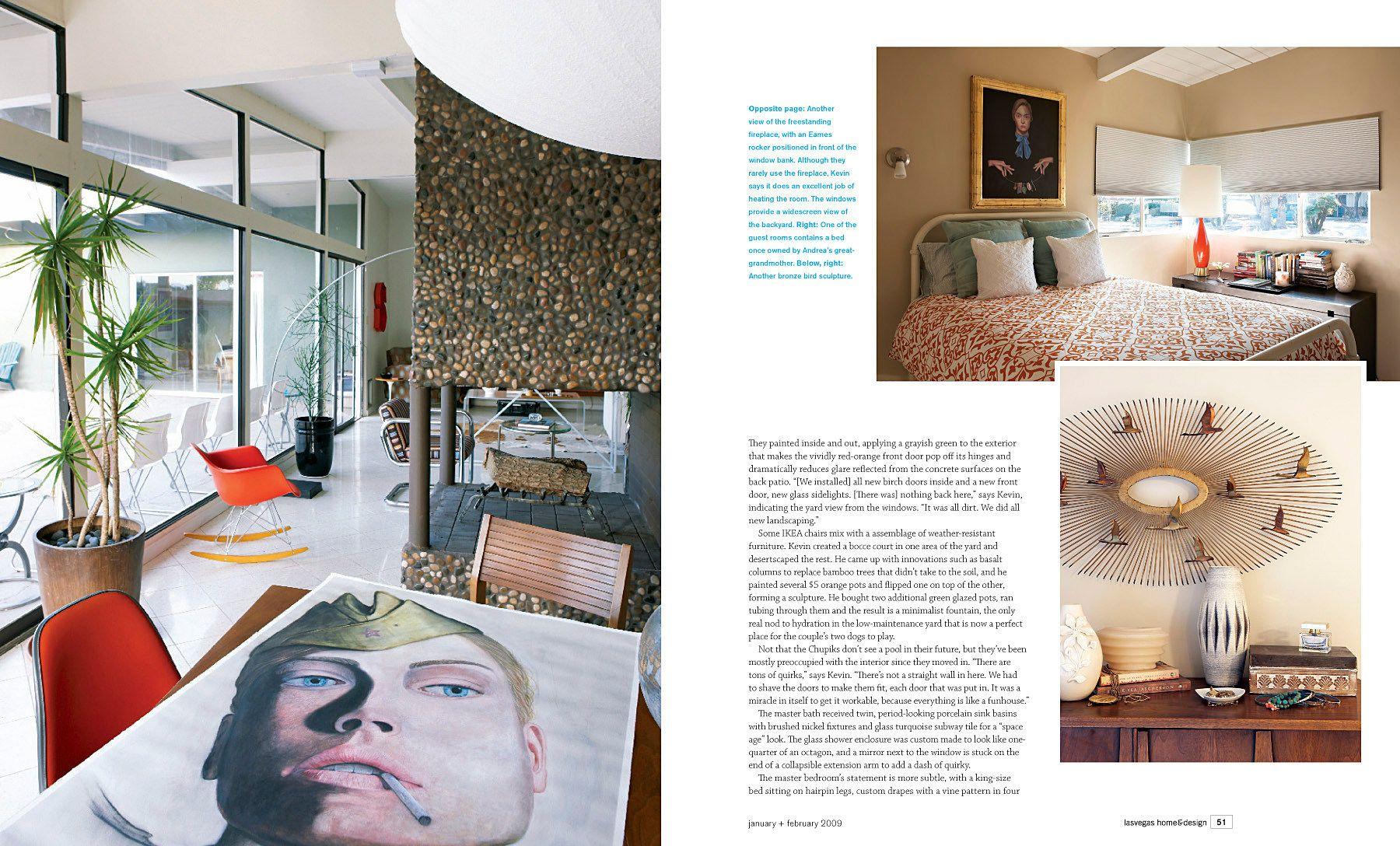 Chupik Residence Las Vegas H&D Magazine