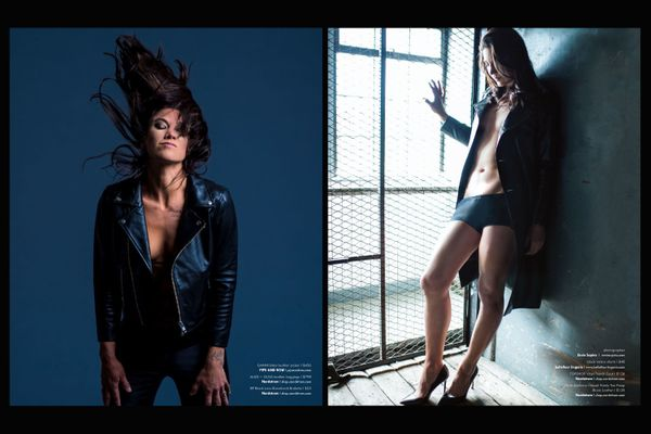 Hope Solo/Ville Magazine