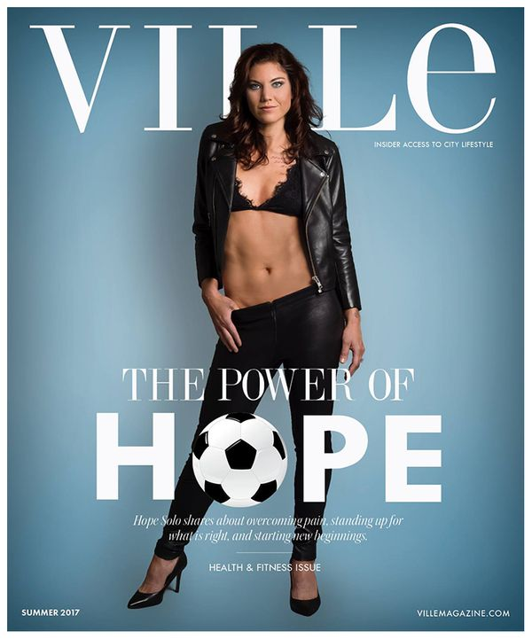 Hope Solo - Ville Magazine