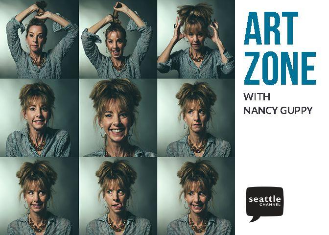 AZ postcard, Nancy Guppy