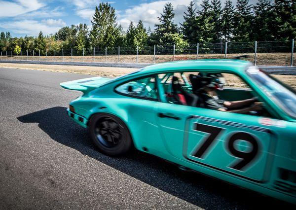 Race Car/ Portland International Raceway