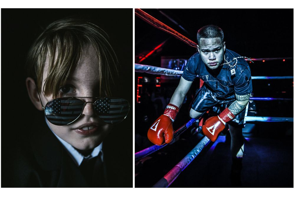 Kid/Professional Boxer/EQC