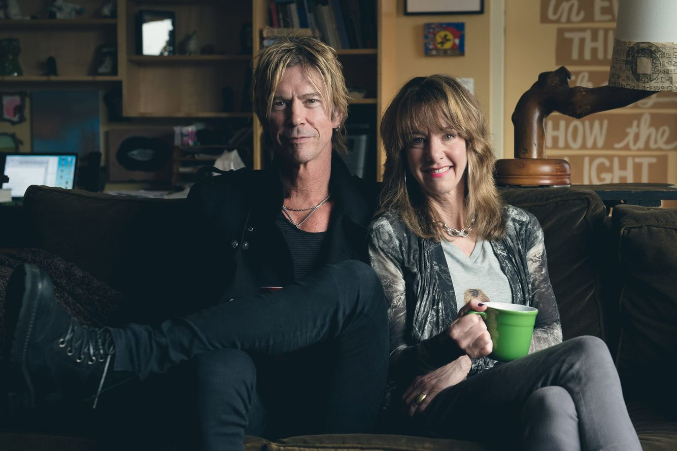 Duff McKagan, Nancy Guppy/Art Zone with Nancy Guppy