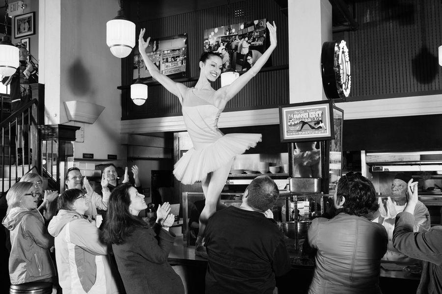 Maria Chapman/principal,  Pacific Northwest Ballet