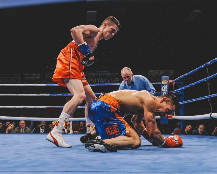 Gio Cabrera, professional boxer, 2019