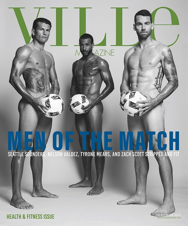 """Ville Magazine """"Men of the Match""""  BEST COVER!                       American Society of Magazine Editors"""