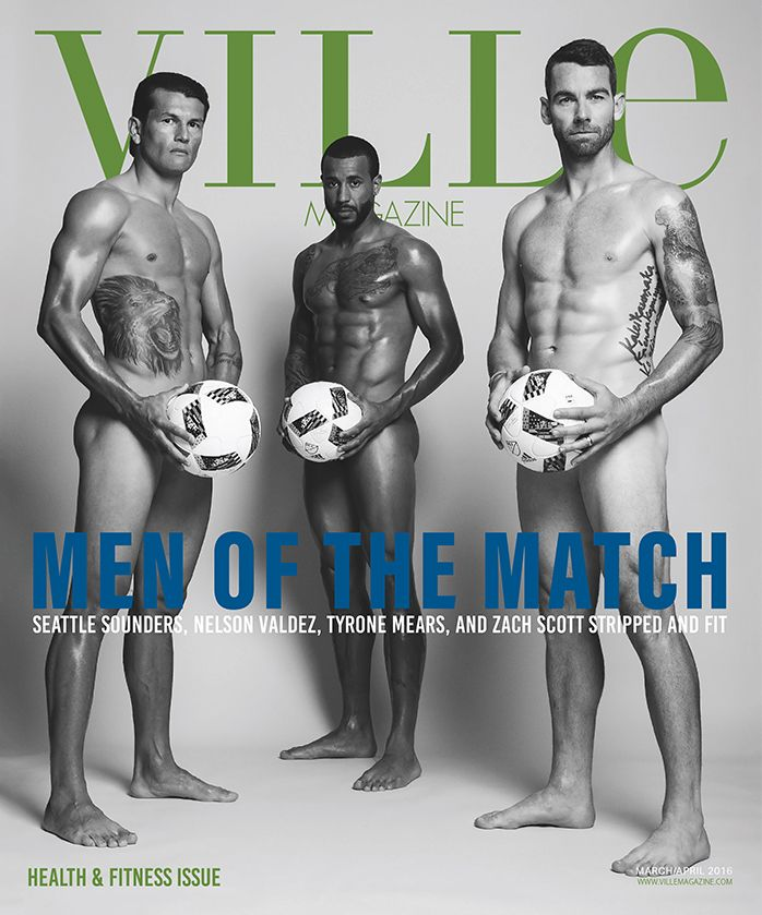 "Ville Magazine ""Men of the Match""  BEST COVER!                       American Society of Magazine Editors"
