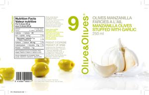 Olive & Olives Stuffed Garlic