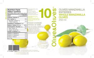 Olive & Olives Natural Green