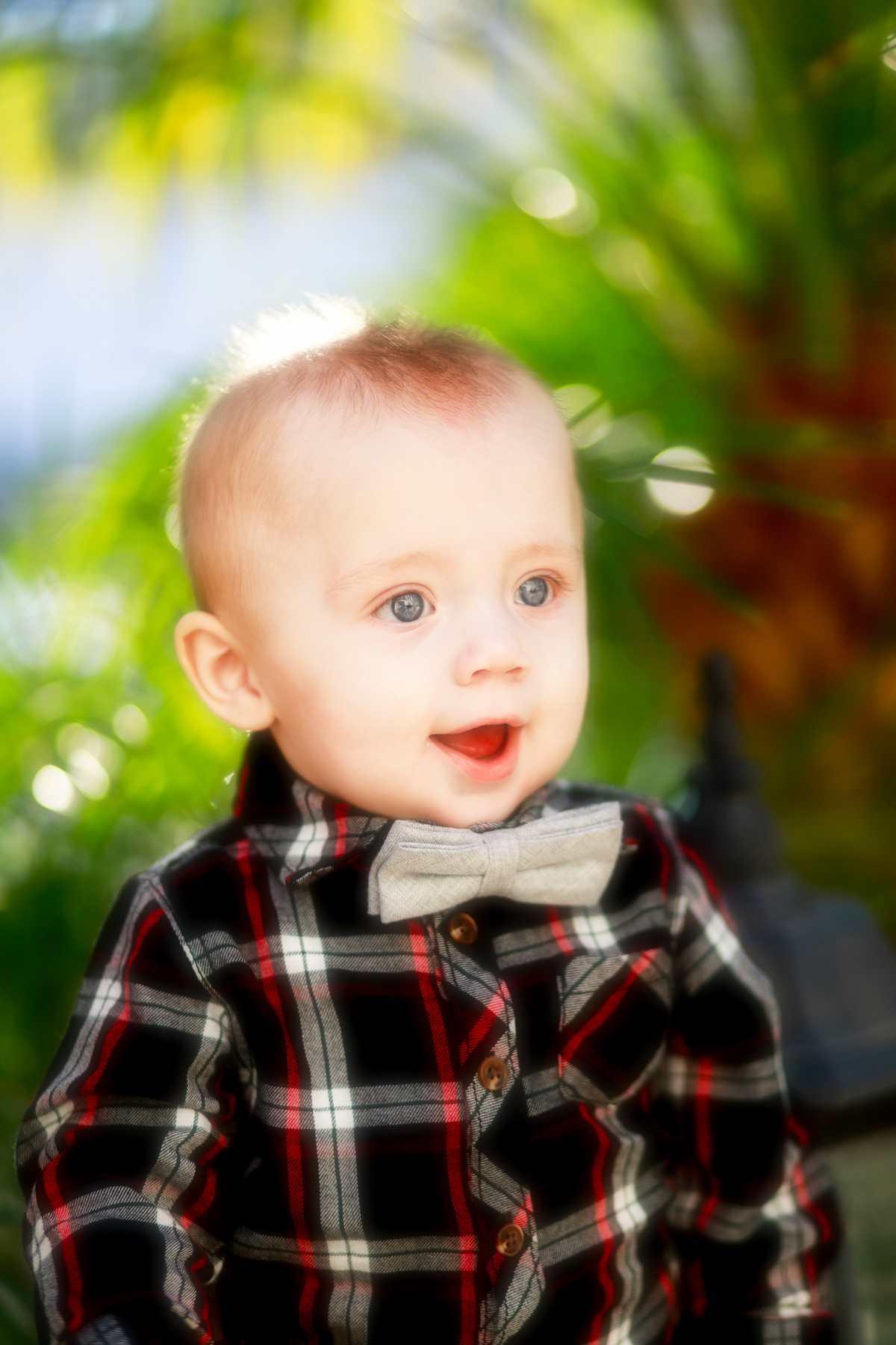 Baby looking super cute!
