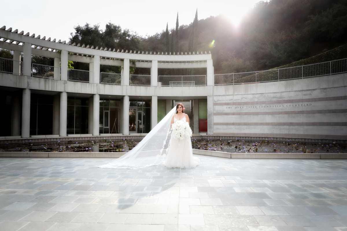 Sun lit bride