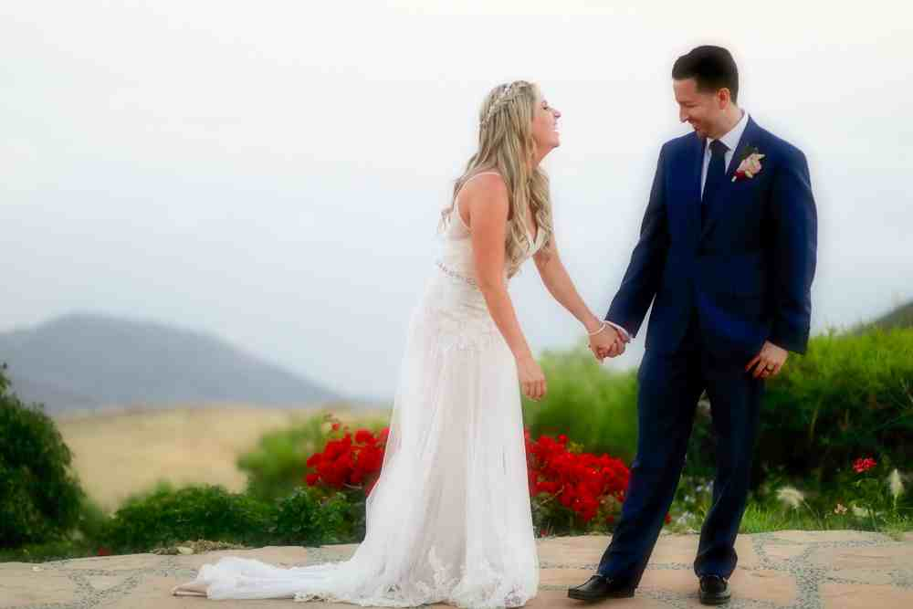 Malibu gorgeous wedding duo
