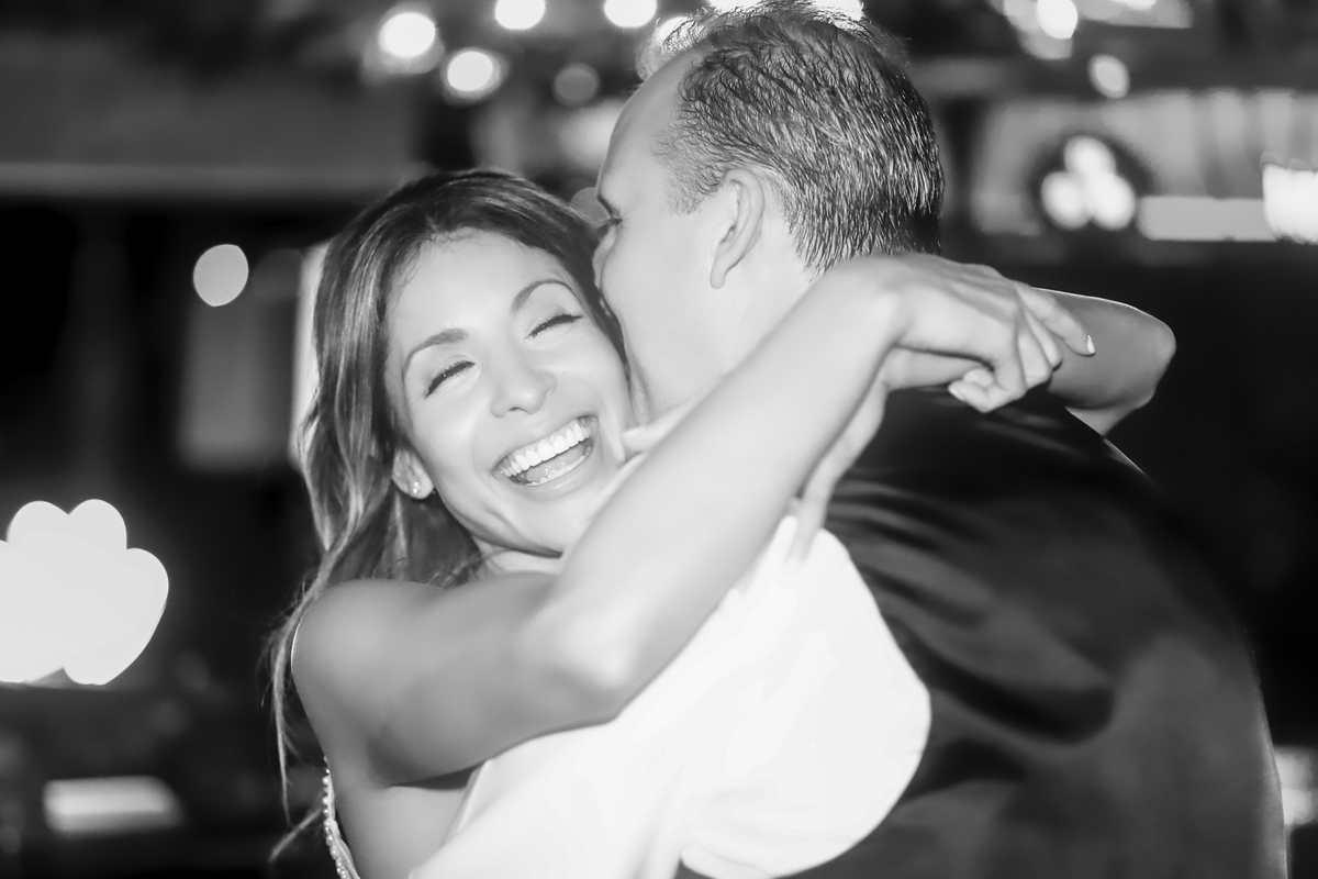 The bridal hug