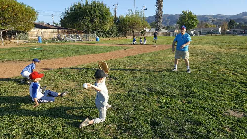 Coaching the basics - throwing.