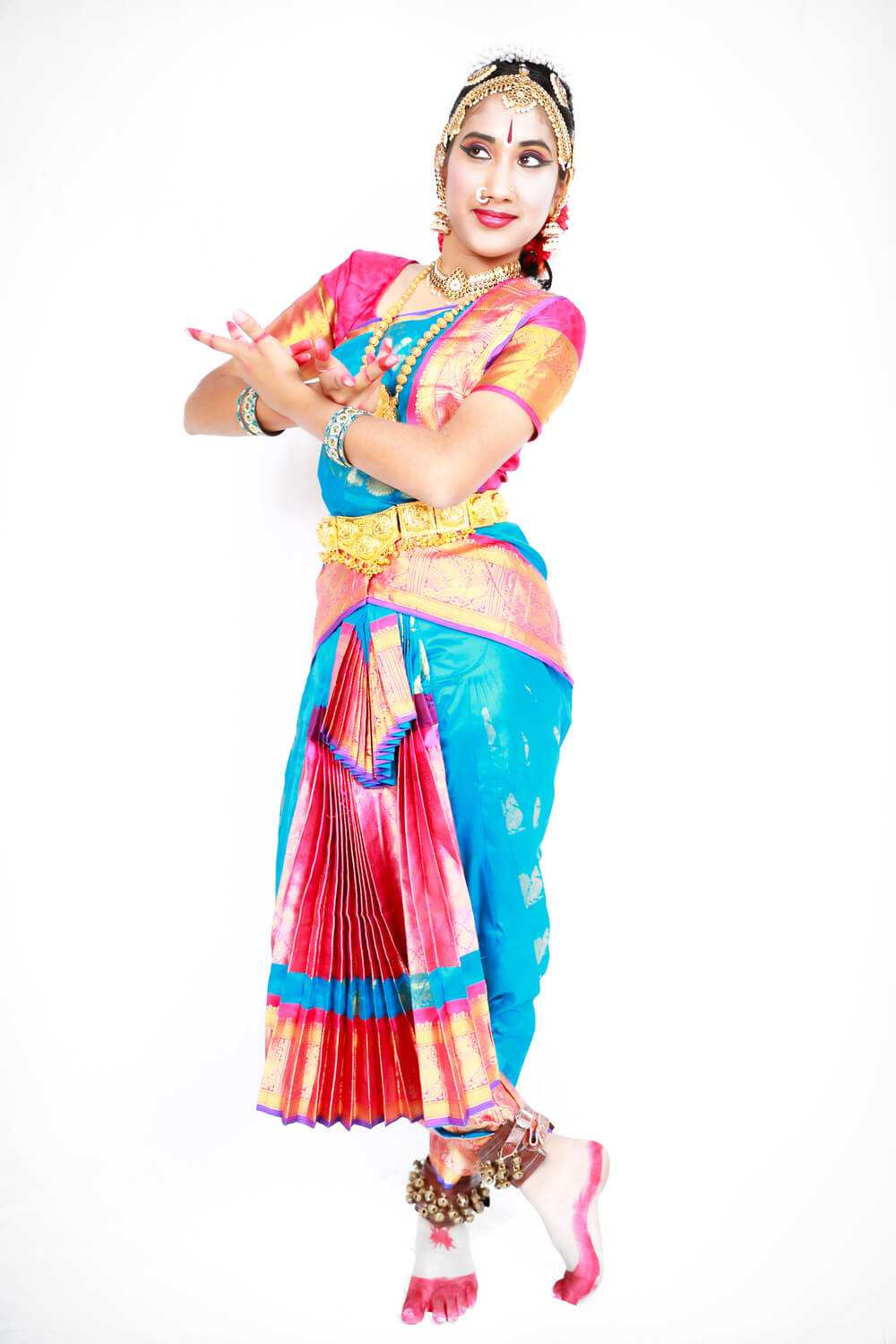 Classical Indian Dance poser