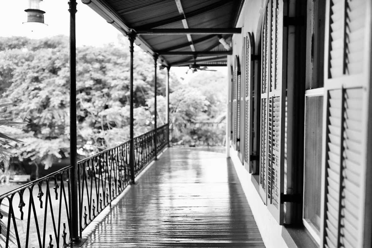 Hemingway House Veranda BW 1.JPG