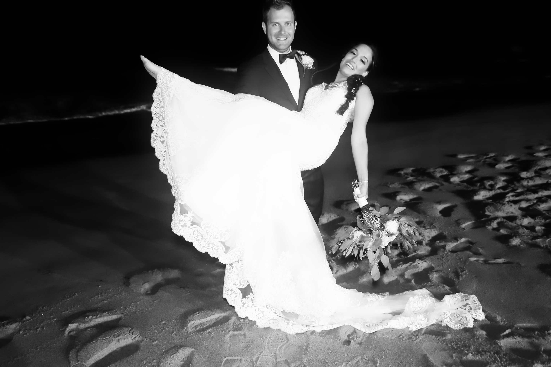 Beach wedding lift