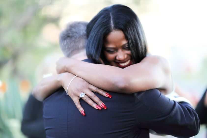 The Rachelle hug!