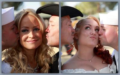 Dean & Darlene Kalyn and Matt wedding kiss smooch.jpg