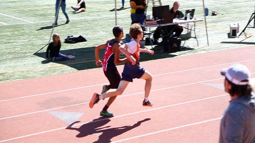 Aneesh for a photo finish
