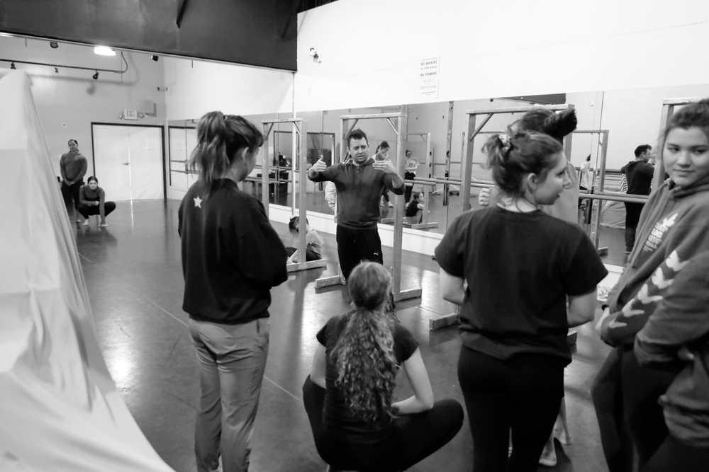 Dance choreographer David