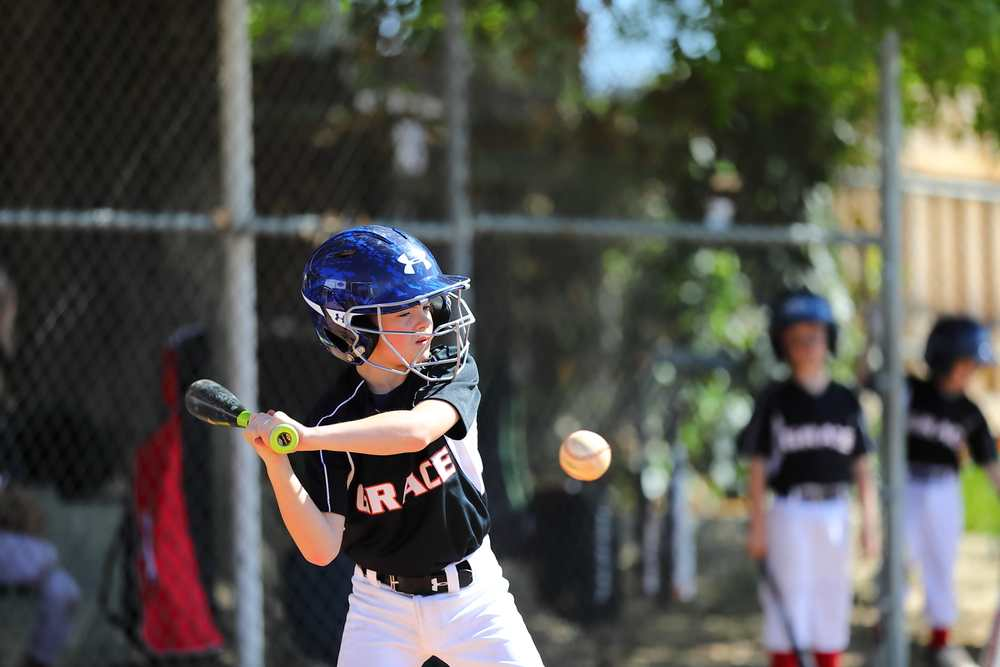 Batter ready to hit the ball.
