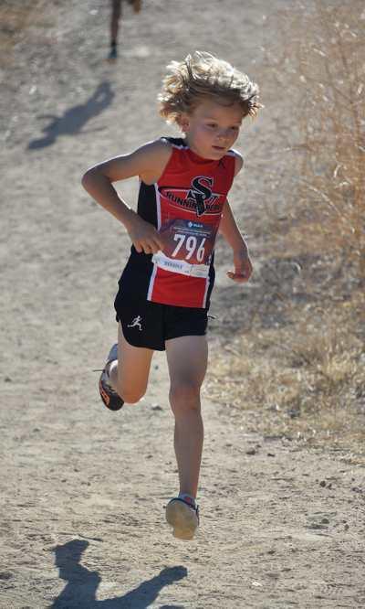 Sebby on the run