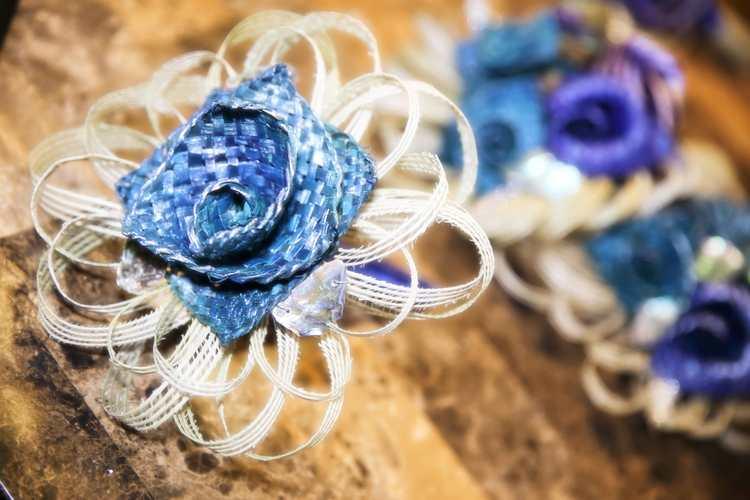 Amazing handmade bridal headwear