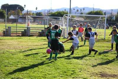 Soccer defence