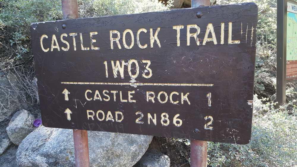 Castle Rock Trail beckonks