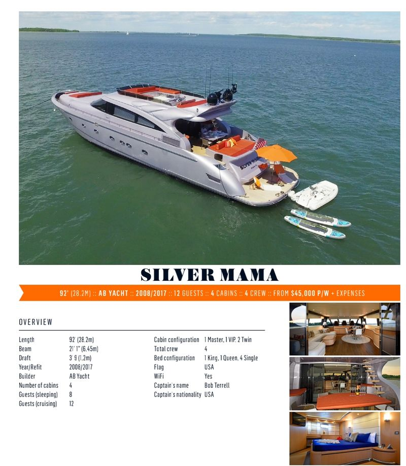 Silver mama yacht charters sag harbor - Aahoy Yacht Charters
