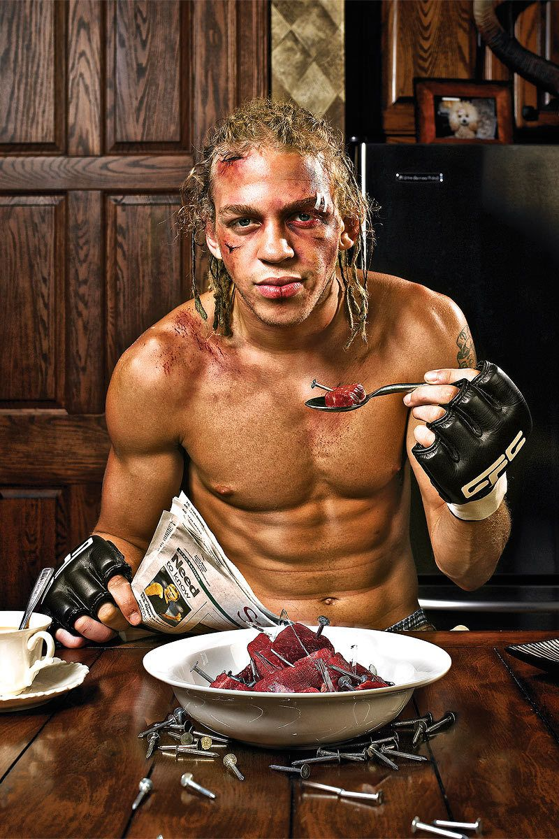 """So Tough they Eat Nails for Breakfast""UFC Fighter Jonathan Brookins"