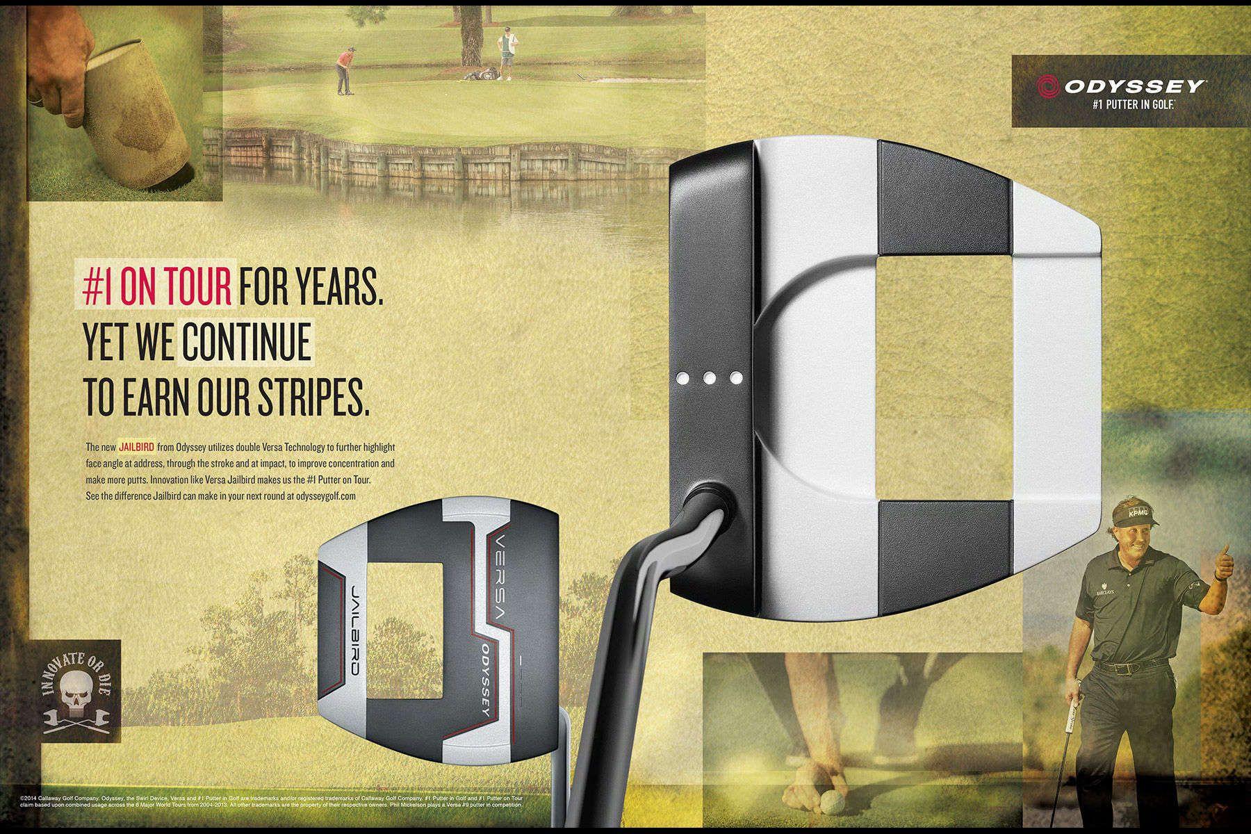 Odyssey Putters/Callaway Golf 2014