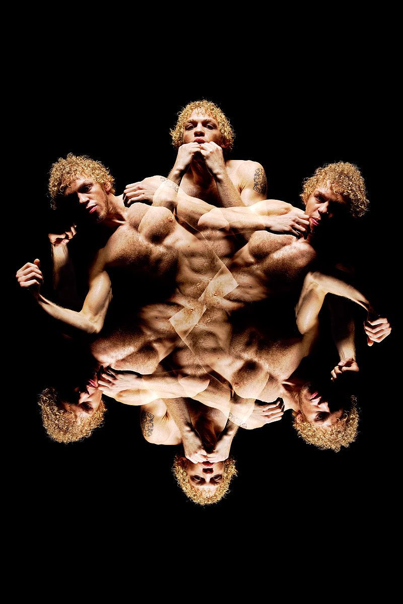 UFC Fighter Jonathan BrookinsStroboscopic Series