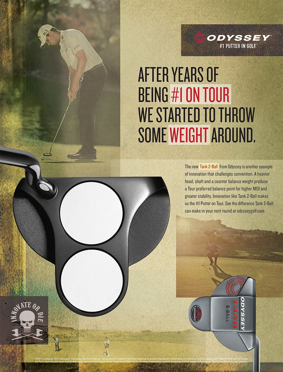 Odyssey Putters / Callaway Golf 2014 Ad Campaign