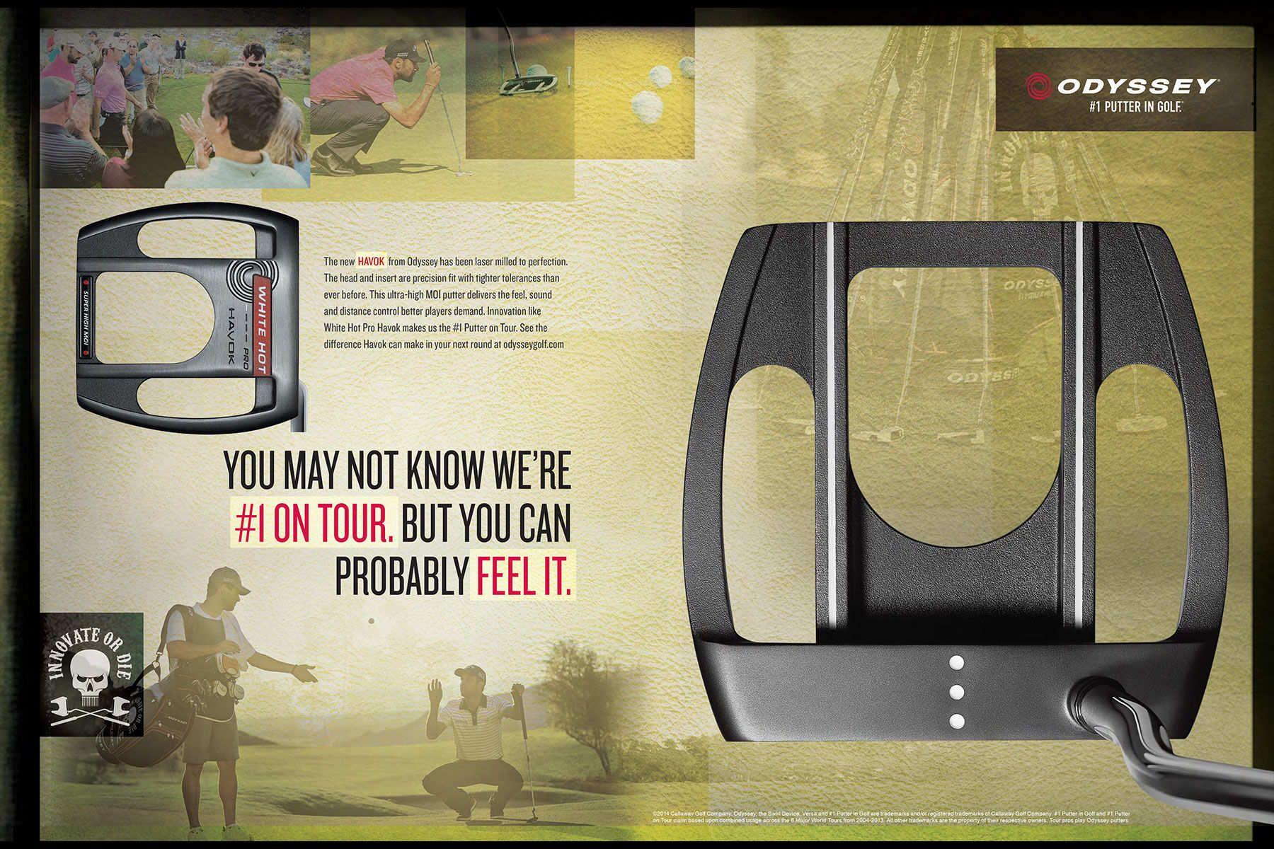Odyssey Putter / Callaway Golf 2014 Ad Campaign