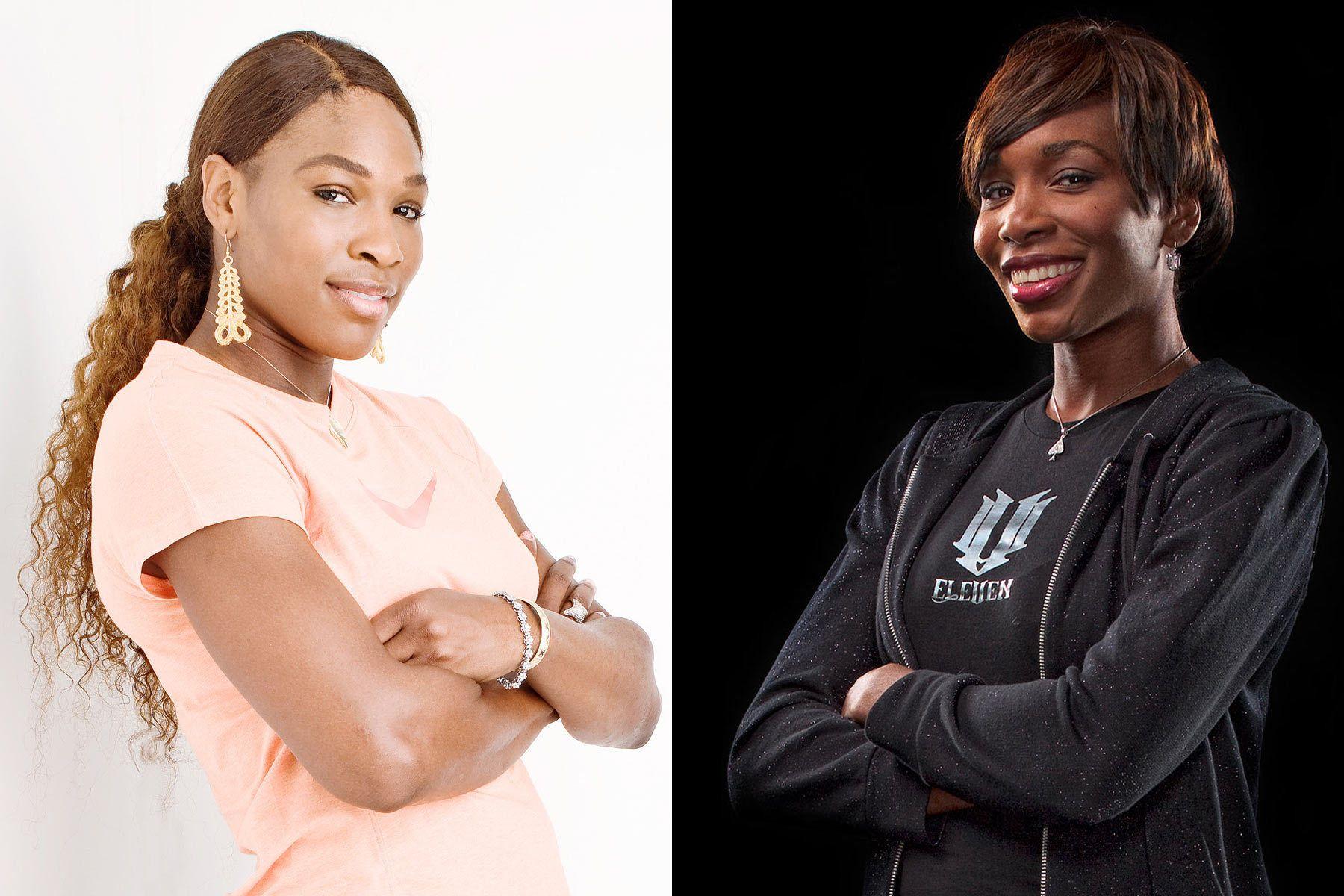 Serena and Venus WilliamsTennis LegendsSistersUSTA Miami, FL