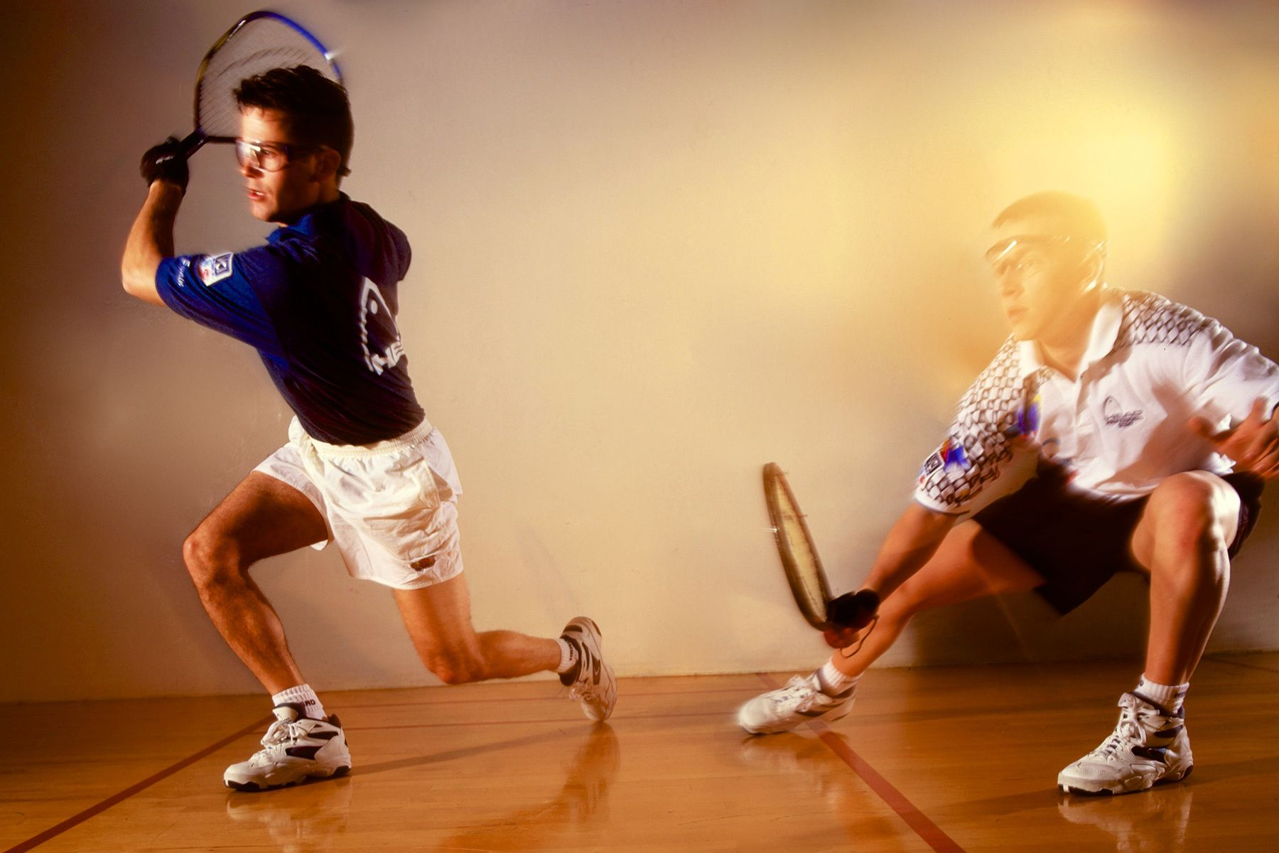 Cliff Swain & Sudsy Monchik_Top 2 Rated All-Time Professional Raquetball Players