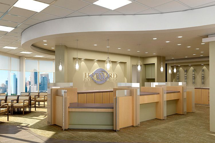 Harvard Eye | Laguna Hills, CAHarvard Eye AssociatesDesigner:  Cathy Morehead + Associates