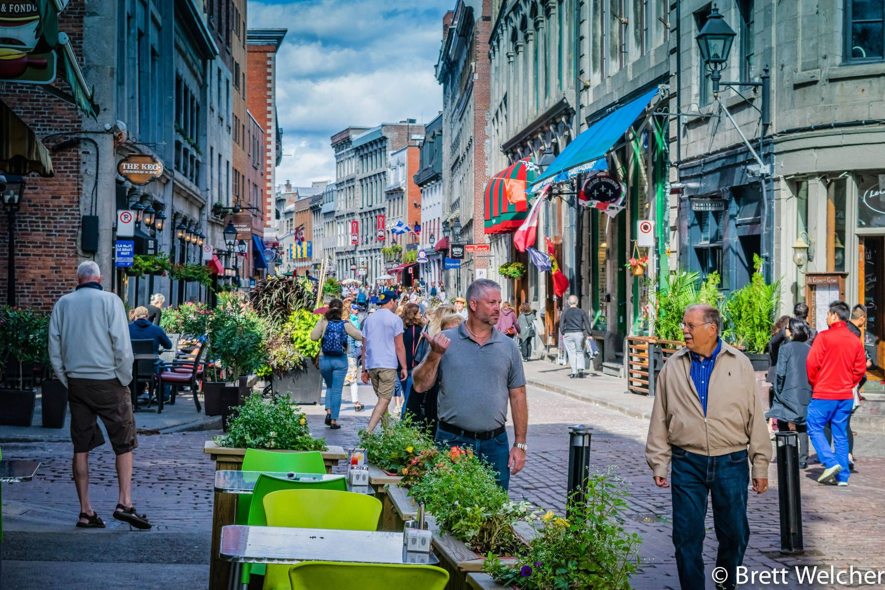 Rue Saint Paul - Montreal, Quebec