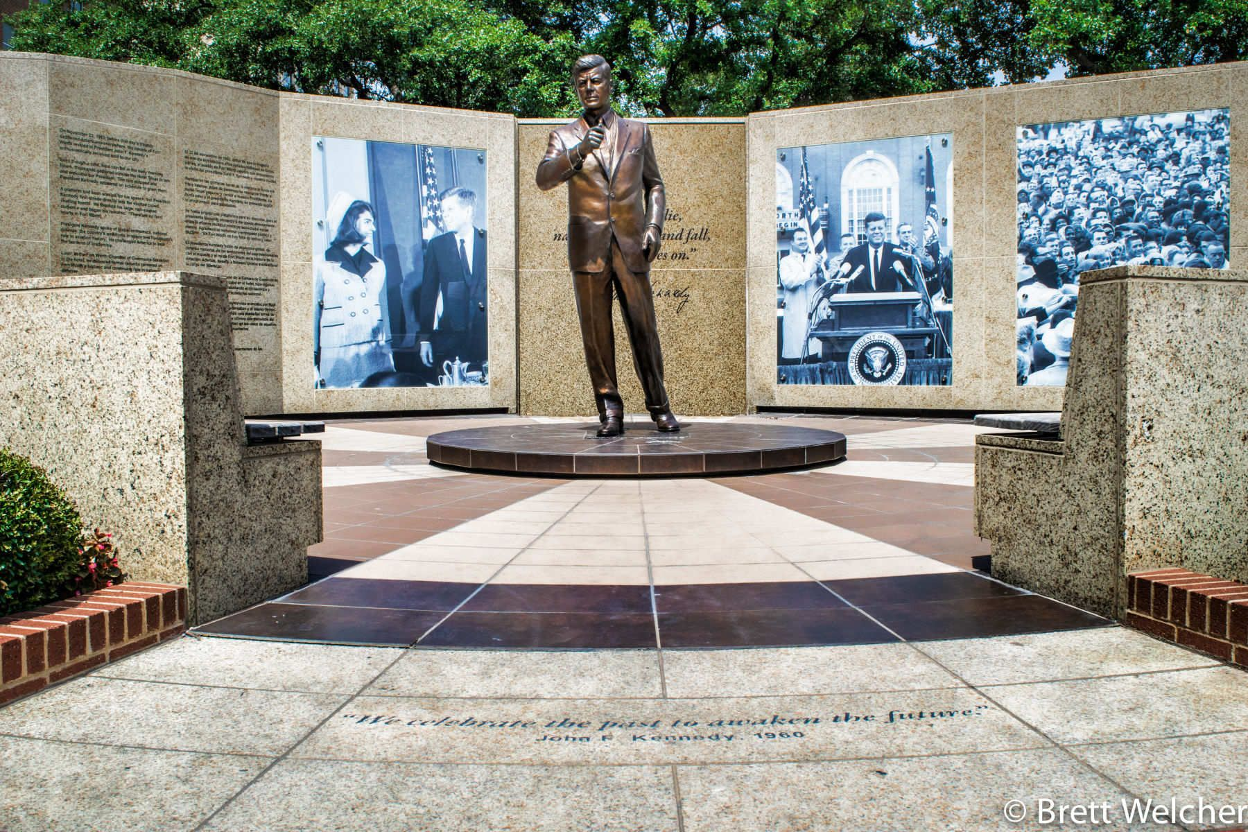 John F. Kennedy Tribute Memorial - Fort Worth, Texas