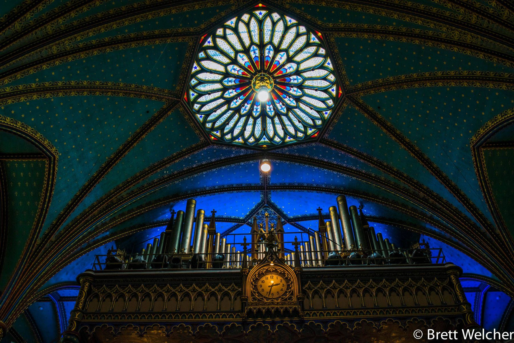 Notre-Dame Basilica - Montreal, Quebec
