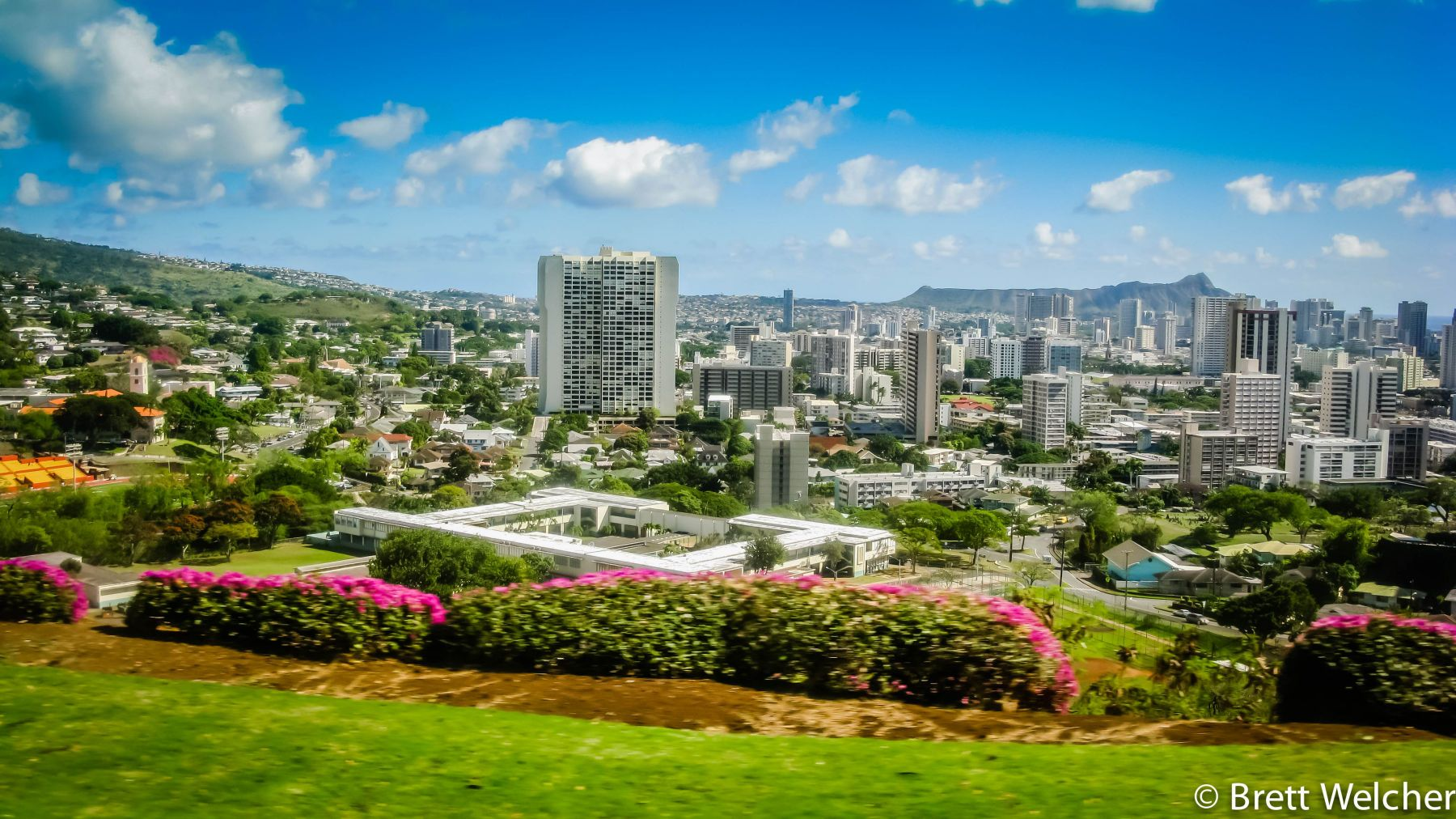 Honolulu Skyline - Honolulu, Hawaii