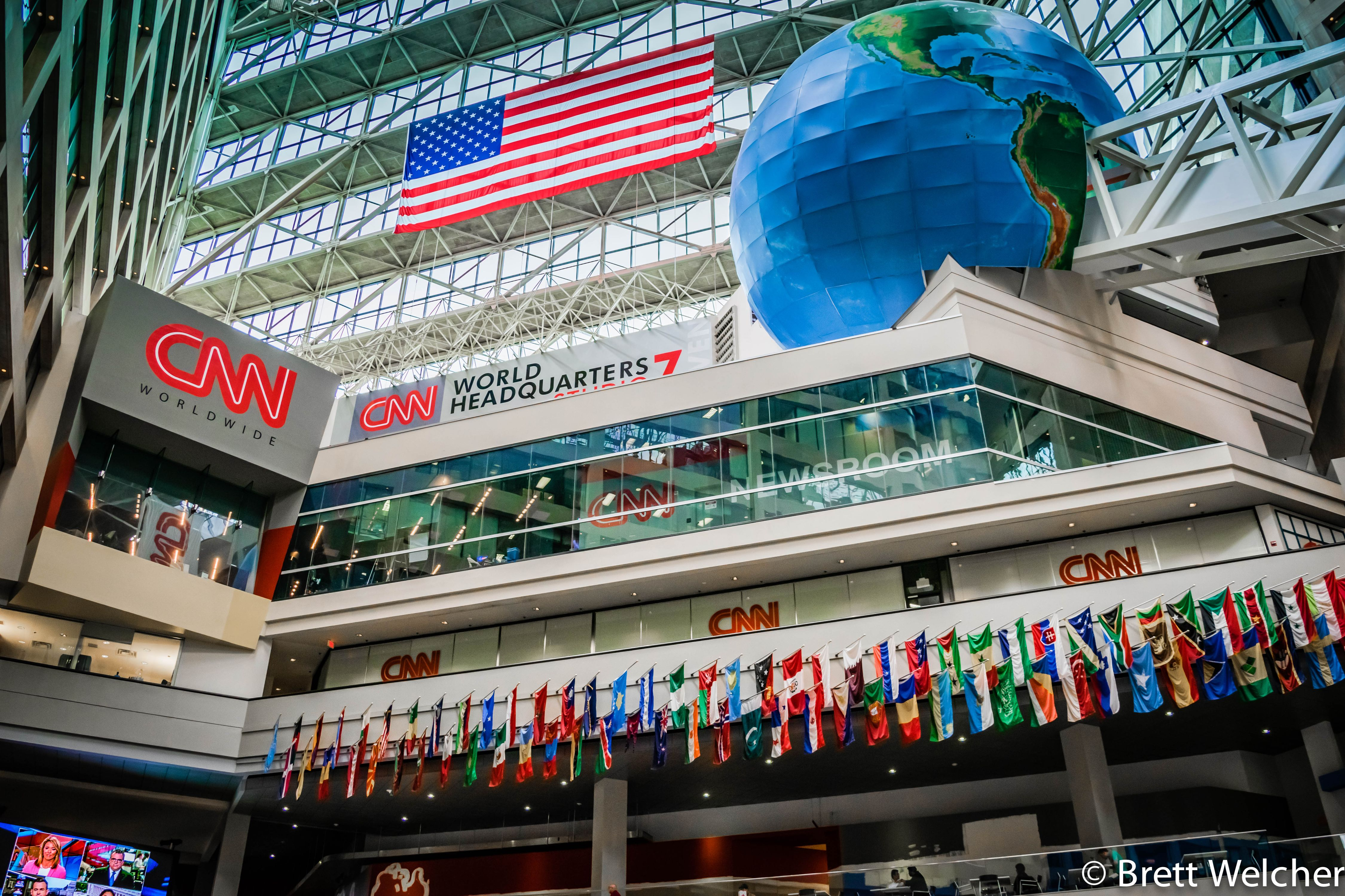 CNN Studio Tours - Atlanta, Georgia