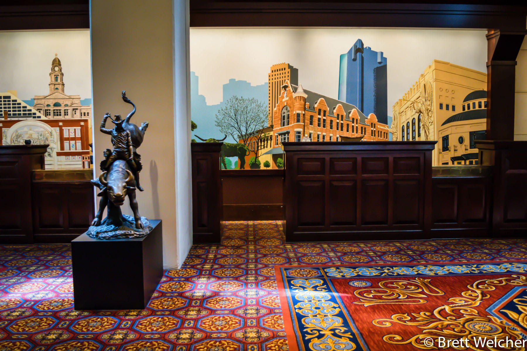 The Worthington Renaissance Lobby - Fort Worth, Texas