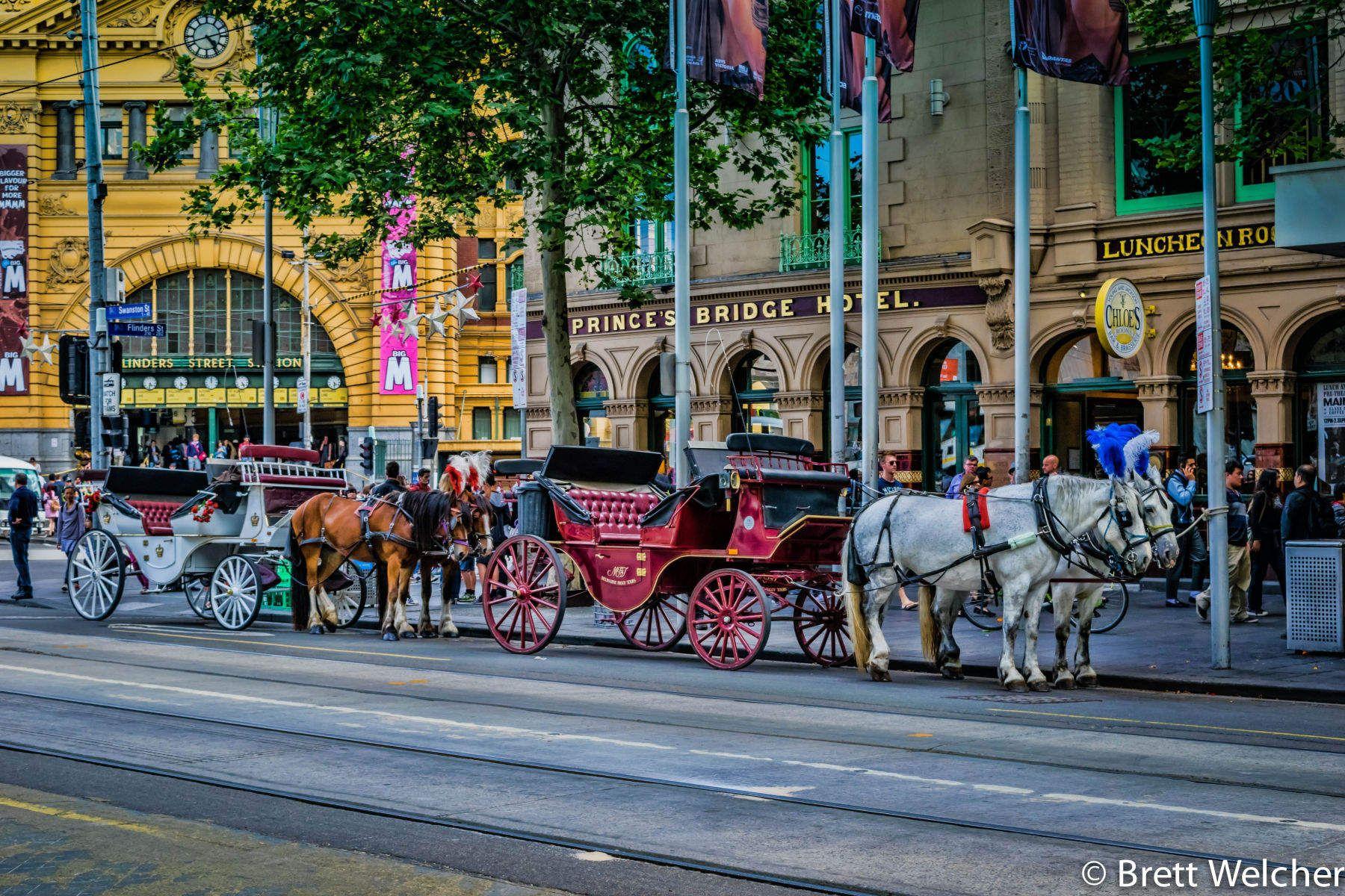 Swanston Street - Melbourne, Victoria
